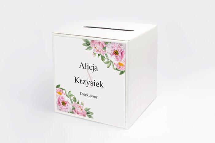 personalizowane-pudelko-na-koperty-do-zaproszenia-ze-sznurkiem-rozowe-piwonie-papier-satynowany-pudelko-
