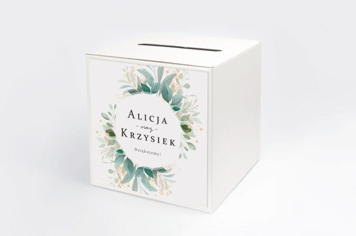 personalizowane-pudelko-na-koperty-pionowe-ze-wstazka-listki-ze-zlotem-papier--pudelko-