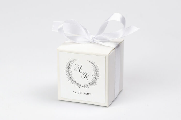 pudeleczko-z-personalizacja-do-zaproszenia-minimalistyczne-laur-kokardka--krowki-bez-krowek-papier--pudelko-