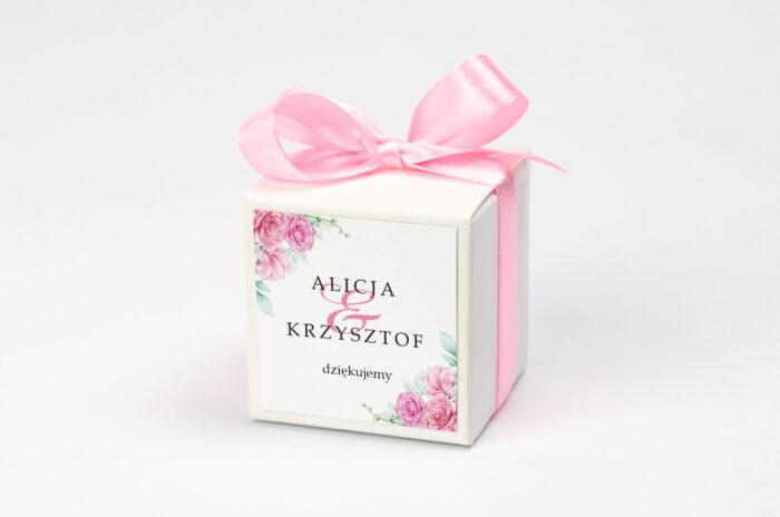 pudeleczko-z-personalizacja-do-zaproszenia-geometryczne-kwiaty-rozowe-roze-kokardka--krowki-bez-krowek-papier--pudelko-