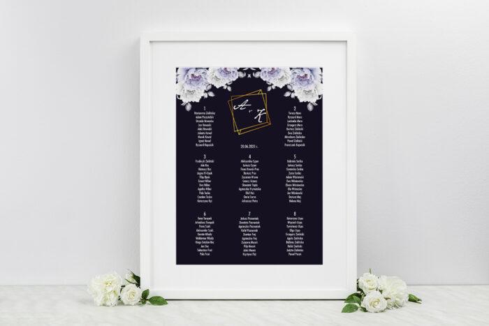 plan-stolow-weselnych-do-zaproszen-kontrastowe-z-kwiatami-niebieskie-roze-dodatki-ramka-papier-matowy