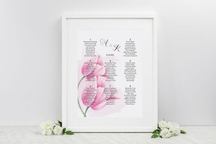 plan-stolow-weselnych-do-zaproszenia-namalowane-kwiaty-tulipanowe-dodatki-ramka-papier-matowy
