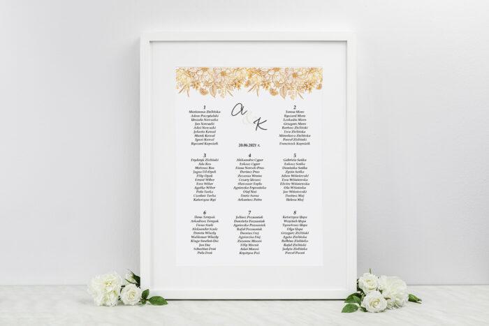 plan-stolow-weselnych-do-zaproszenia-jednokartkowe-z-kwiatami-zlote-kwiaty-dodatki-ramka-papier-matowy