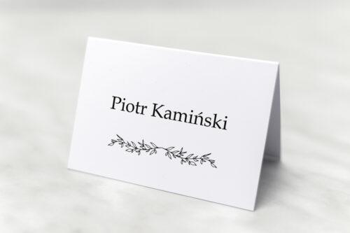 winietka do zaproszenia minimalistyczne delikatne