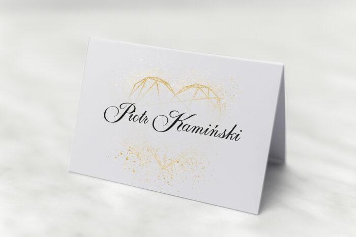 winietka-slubna-do-zaproszenia-geometryczne-serce-zloto-biale-papier-matowy