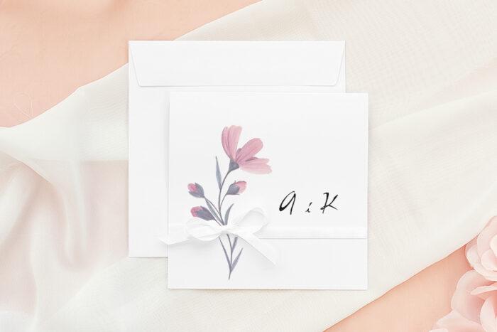 zaproszenie-slubne-bukiet-ze-wstazka-delikatnie-rozowy-papier-matowy-wstazka--koperta-k4-pastelowy-roz