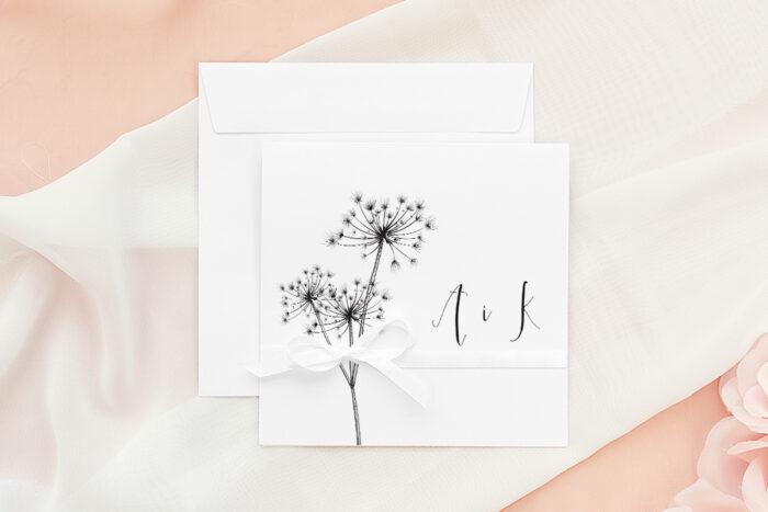 zaproszenie-slubne-bukiet-ze-wstazka-dmuchawce-papier-matowy-wstazka--koperta-k4-pastelowy-roz