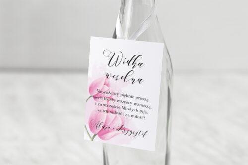 Zawieszka na alkohol Namalowane Kwiaty - Tulipanowe